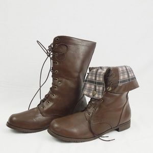 NWOT Men's Leather Boots 13